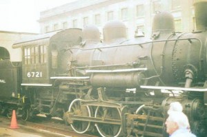 Old Steam Loco sitting at Utica, NY