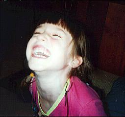 Celeste Laughing