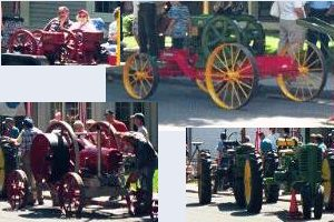 Old Engines and tractors.