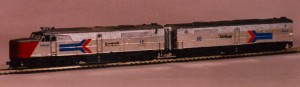 Figure 5: Some of my Alco passenger locomotives.