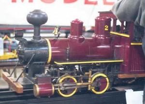 0-4-0 Live Steam engine