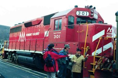 Vt. RR GP40