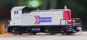 Figure 6: One of my EMD SW1 locos.