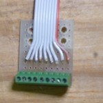Signal Connector Board, cable soldered on