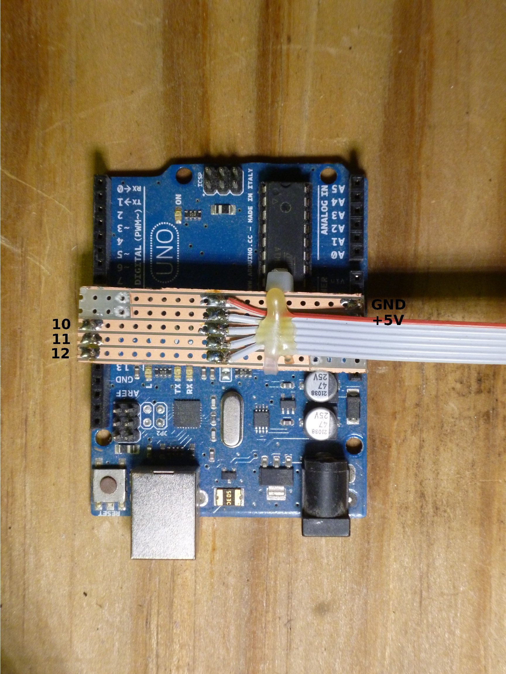Model rr signals with an arduino connecting the signal
